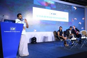 Nagaraja Prakasam CII Startupreneur