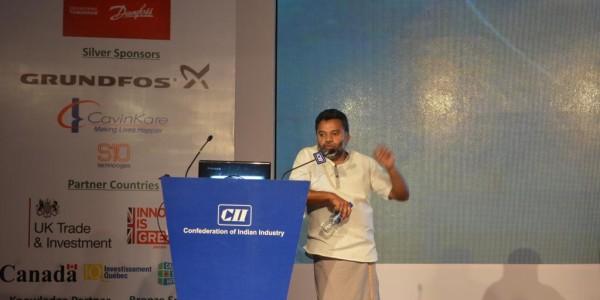Naga – CII Startupreneurs – Wearing Dhoti