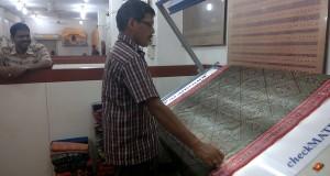 Boyanika, Bhubaneswar, Odisha. Qulaity Check - Weave
