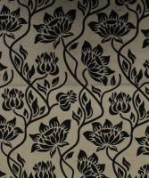 Kalamkari Handwoven Cream Floral Printed Cotton Fabric,Kanti Textiles