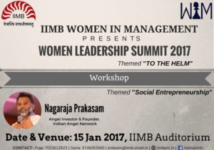 Women Leadership Summit, IIMB @ IIMB | Bengaluru | Karnataka | India