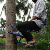 Shamil Salam – Coconut Climbing Machine, Areacode, Kerala.