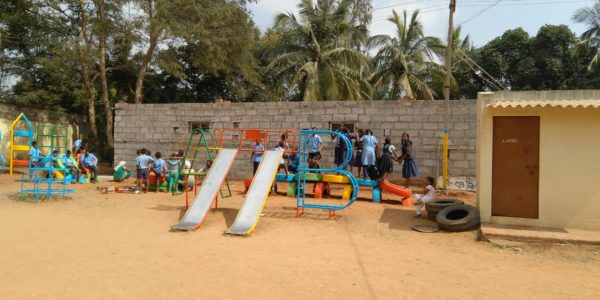 Anthill 25th playground, Dommasandra with Mantra4Change